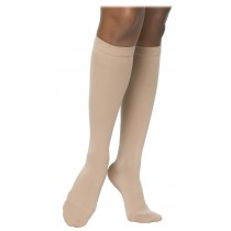 Sigvaris 860 Select Comfort Women Knee High Compression Socks w/ Silicone Grip Top - 863C CLOSED TOE 30-40 mmHg