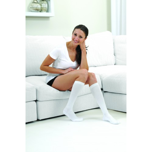 SPORTSLINE Knee High Compression Socks CLOSED TOE 20-30 mmHg