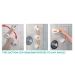 Suction Grab Bar with Adjustable Rotating Angle