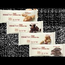 Think Thin High Protein Bars, 20g  - 10 Per Box