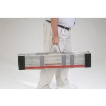DecPac Portable Fiberglass 4 Panel Ramps