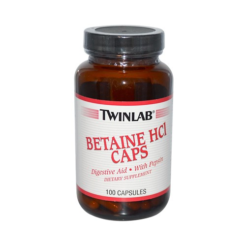 Twinlab Betaine HCl Caps
