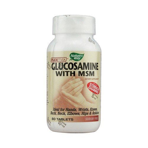 Natures Way FlexMax Glucosamine with MSM
