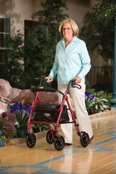 Carex Roller Walker With Seat Buy Rollator Walkers A222 00