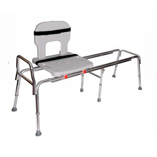 Long Toilet To Tub Sliding Transfer Bench 67992 Buy Shower Benches Products Eagle Health