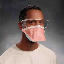 FluidShield Surgical Mask and N95 Particulate Filter Respirator Pouch Style