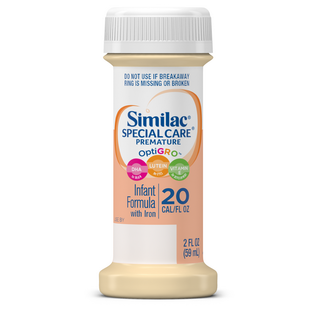 similac special care 20 premature infant formula with iron  d0b