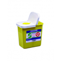 Kendall SharpSafety Chemotherapy Sharps Container Bin