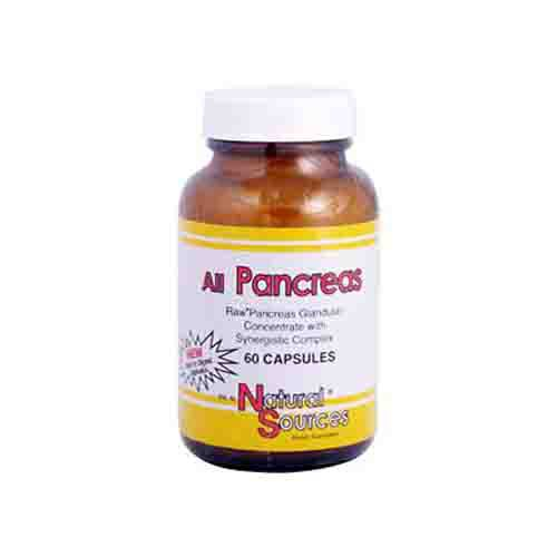 All Pancreas Glandulars Dietary Supplement