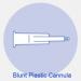 Blunt Plastic Cannula