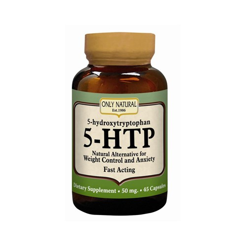 Only Natural 5 HTP 50mg