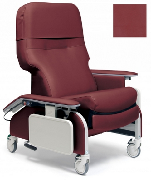 lumex deluxe clinical care recliner by graham field  27f
