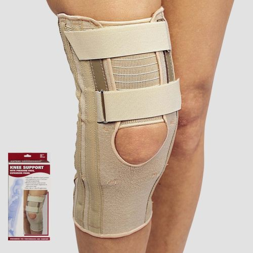 Knee Support with Condyle Pads and Expansion Panel