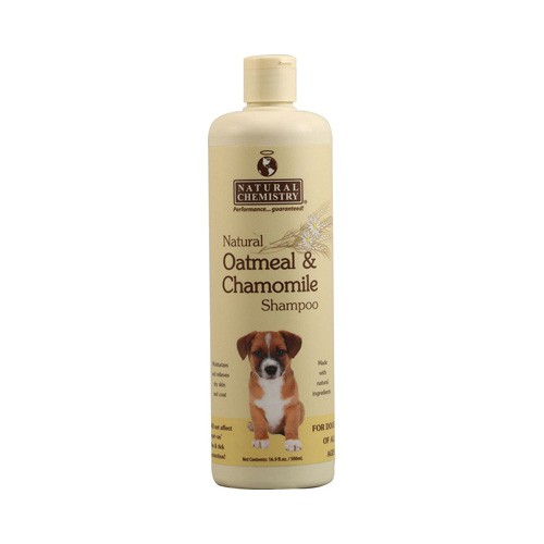 Natural Oatmeal and Chamomile Shampoo for Dogs