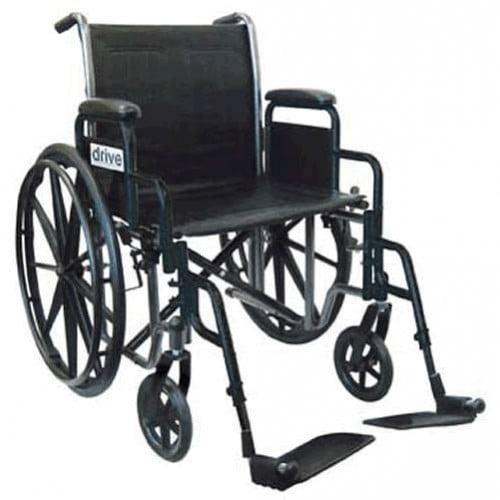 Drive 20 Inch Silver Sport 2 Wheelchair