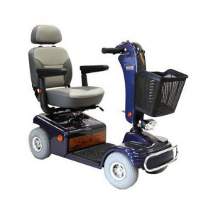 Shoprider Sunrunner 4 Deluxe 4-Wheel Scooter 888B-4