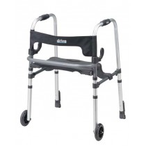 Clever-Lite Folding Walker With Seat by Drive