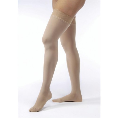 Jobst Opaque Thigh High Moderate Compression Stockings 15-20 mmHg