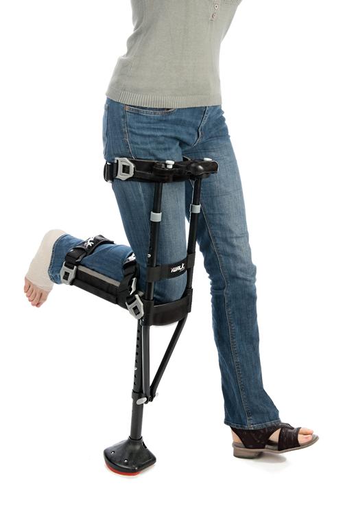 Iwalk 2 0 Hands Free Crutch Hfc20001bk Vitality Medical