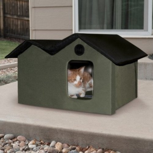 K&H Thermo Outdoor Kitty House - Heated & Unheated