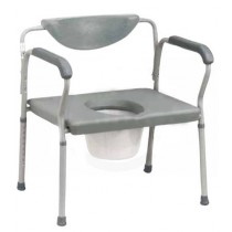 Heavy Duty Bariatric Bedside Commode by Drive