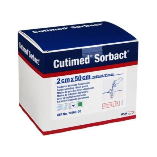 Cutimed Sorbact Ribbon Gauze - 2 x 50 cm