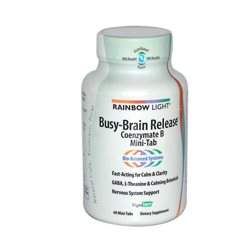 Rainbow Light Busy Brain Release Coenzymate B