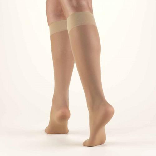 TRUFORM Women's LITES Knee High Support Stockings 8-15 mmHg