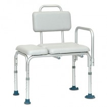Invacare AdjustableTransfer Bench Padded