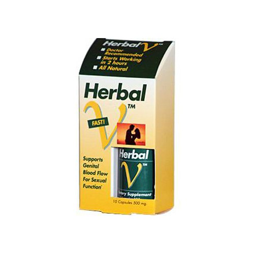 Lane Labs Herbal V 500 mg Natural Aphrodisiac
