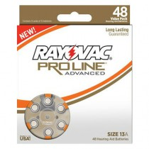 Proline Advanced Mercury Free Hearing Aid Batteries