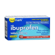 Ibuprofen Pain Reliever Tablets
