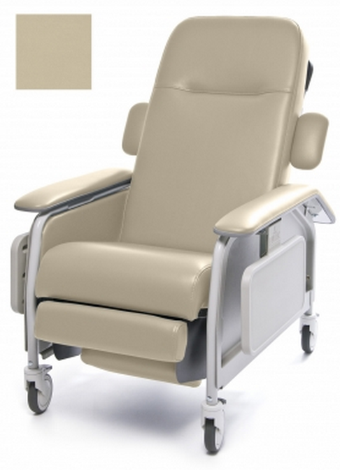 lumex clinical care geri chair recliner 62c