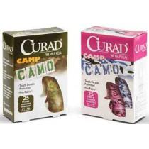 CURAD Camo Fabric Adhesive Strips, Latex Free