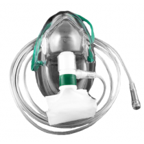 Oxygen Mask Nonrebreather Adult High Concentration