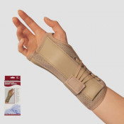 Suede Finish Wrist Brace