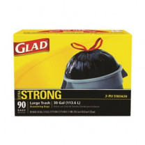 Glad Strong Large Trash - 20 - 30 Gallon