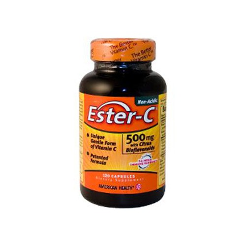 American Health Ester C with Citrus Bioflavonoids Dietary Supplement 500 mg