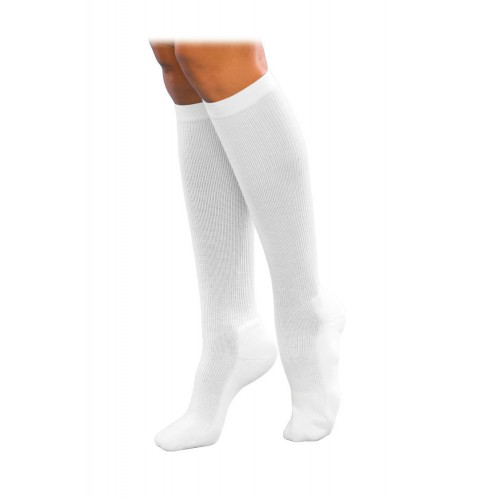 Sigvaris 142C Cushioned Cotton Knee High Compression Socks CLOSED TOE 15-20mmHg