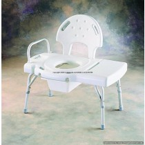 Transfer Bench with Commode