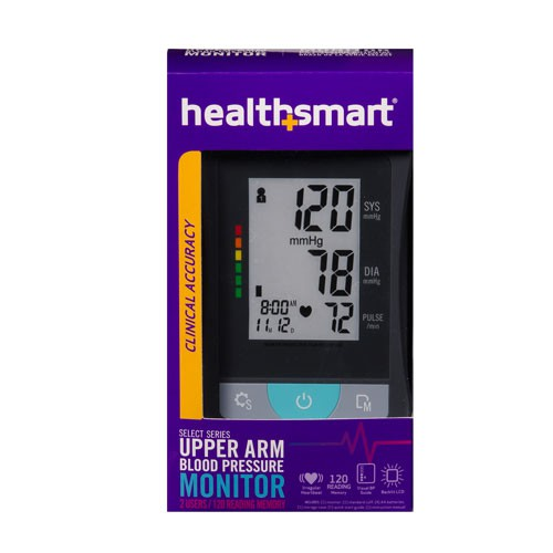 healthsmart select series upper arm blood pressure monitor c9e