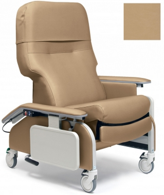 lumex deluxe clinical care recliner by graham field  e41