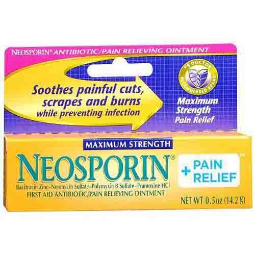 Neosporin Maximum Strength Plus Pain Relief
