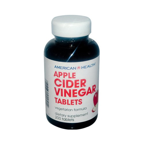 American Health Apple Cider Vinegar Dietary Supplement