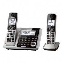 Link2Cell Bluetooth Cordless Phone and Answering Machine with 2 Handsets