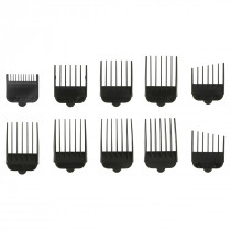 Pet Clipper Replacement Plastic Guide Combs Set of 10 for Standard