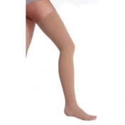 Juzo 3511AG Dynamic Garter Style Thigh High Compression Stockings OPEN TOE 20-30 mmHg