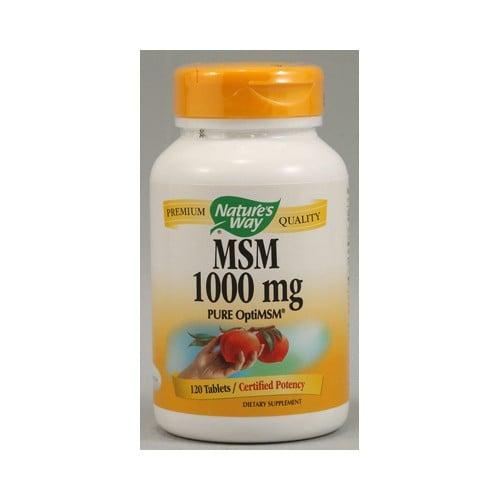 Nature's Way MSM 1000 mg
