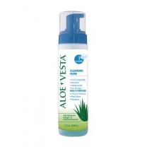Convatec Aloe Vesta Cleansing Foam 4 and 8 oz Pump Bottles No-rinse Perineal Cleanser