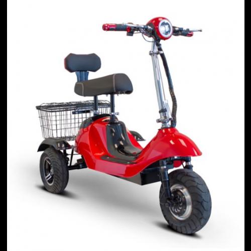EW-19 Sporty eWheels 3 Wheel Scooter, Front View